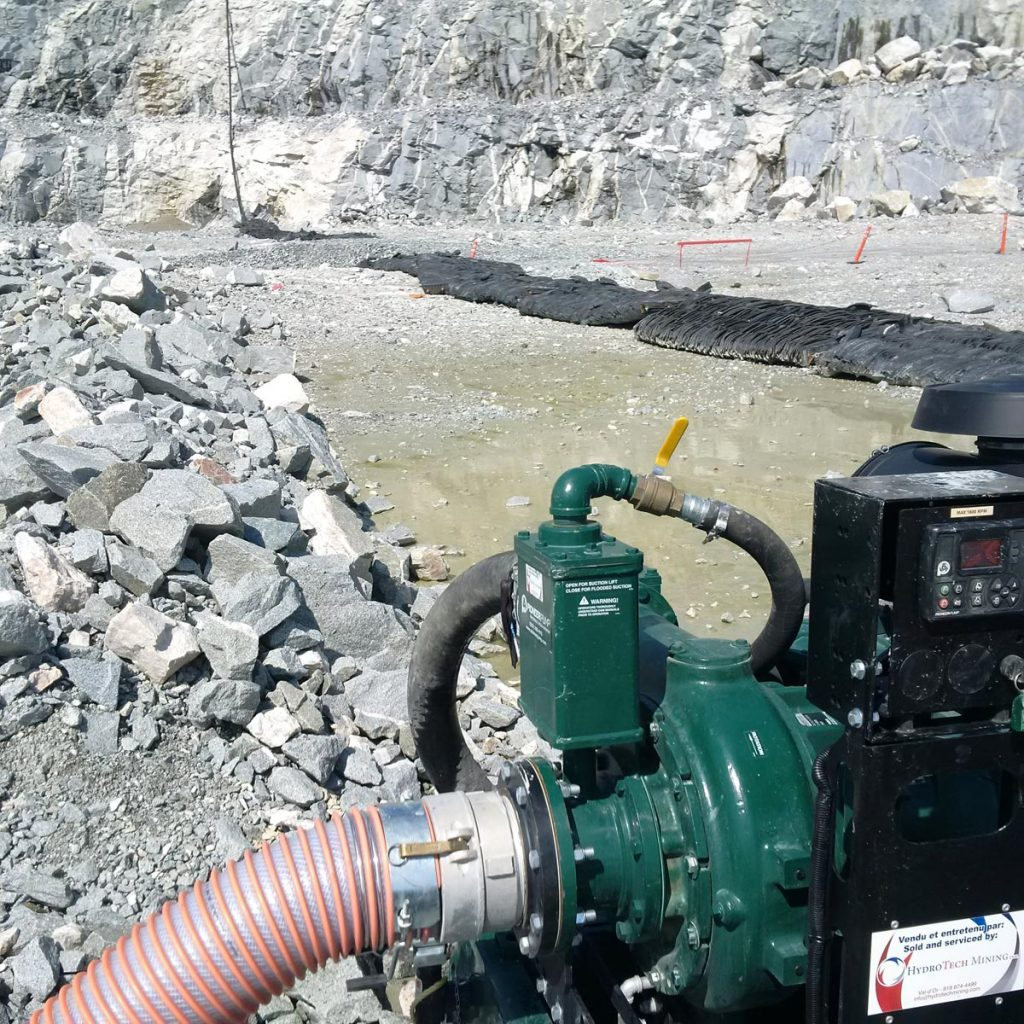 Diesel pumps - Hydrotech Mining