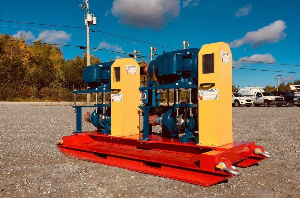Mine infiltration emergeny backup system - Hydrotech Mining